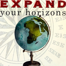 Expand Your Horizons Canvas Art