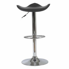 Fabia Bar and Counter Stool in Black and Chrome