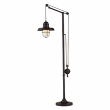 Farmhouse Oiled Bronze Floor Lamp