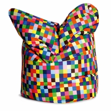 Fashion Bag Happy Pixels Bean Bag Chair
