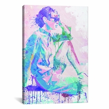 Feeling the Breeze Canvas Wall Art
