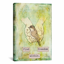 Find Freedom Within Canvas Wall Art