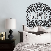 Flocked Love Peel & Stick Wall Decals