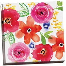Floral Medley I Canvas Wall Art