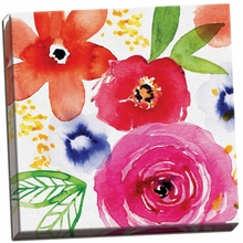 Floral Medley II Canvas Wall Art