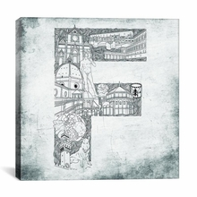 Florence Canvas Wall Art