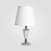 Florence Small Clear Crystal Table Lamp