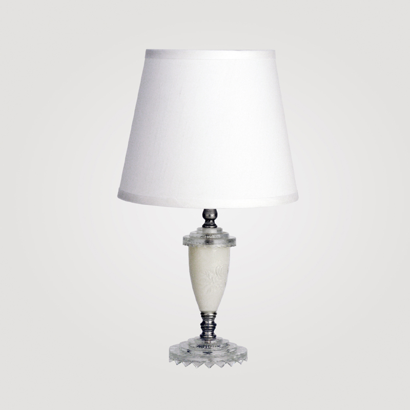 district17 florence small clear crystal table lamp lamps. Black Bedroom Furniture Sets. Home Design Ideas
