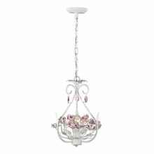 Floria Chandelier In White