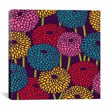 Flower Field Canvas Wall Art