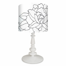 Flower Triptych No. 31 Table Lamp