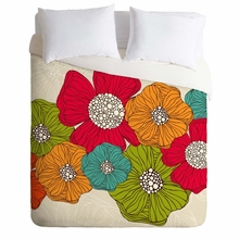 Flowers Lightweight Duvet Cover