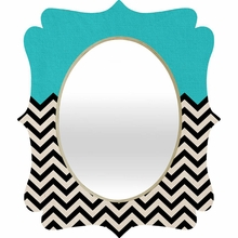 Follow the Sky Quatrefoil Mirror