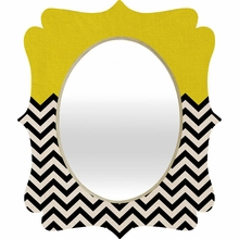 Follow the Sun Quatrefoil Mirror