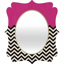 Follow Your Heart Quatrefoil Mirror