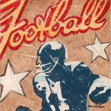Football Star Canvas Wall Art