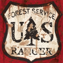 Forest Service Canvas Wall Art