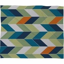 Forward Fleece Throw Blanket
