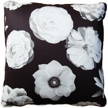 Foto Black Throw Pillow