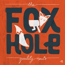 Fox Hole Quality Meats Canvas Wall Art