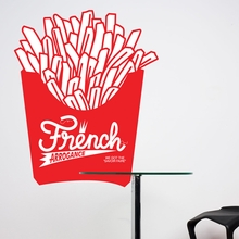 Frenchfries Wall Decal