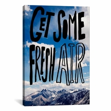 Fresh Air II Canvas Wall Art
