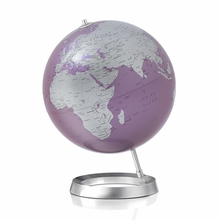 Full Circle Globe in Amethyst