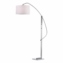 Functional Arc Floor Lamp In Polished Nickel