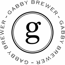 Gabby Personalized Self-Inking Stamp