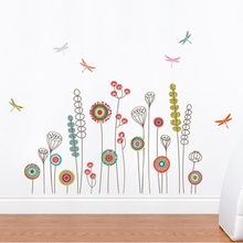 Garden Transfer Wall Decals