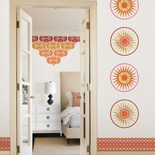 Geo Circles Dot Wall Decals