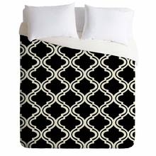 Geo Diamonds Lightweight Duvet Cover