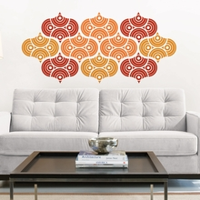 Geo Scales Peel & Stick Wall Decals