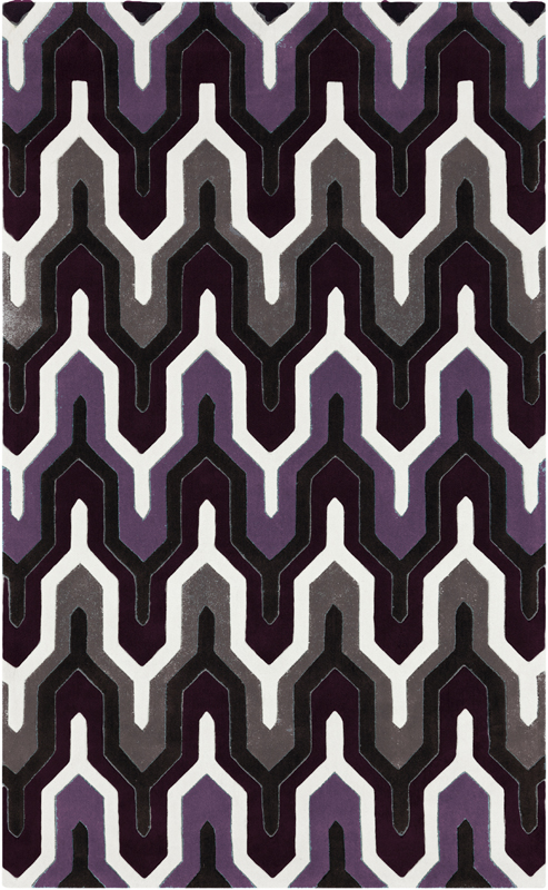 lilac round rugs district17 geometric cosmopolitan rug in purple patterned rugs