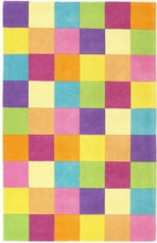 Girls Color Blocks Rug