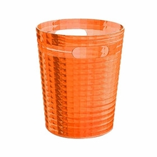 Glady Trash Can in Orange