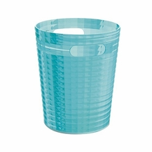 Glady Trash Can in Turquoise