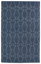 Glam Connect the Dots Rug in Grey