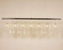 Glamorous Crystal Pipe Chandelier