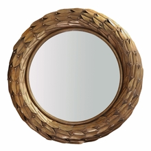 Gold Athena Mirror