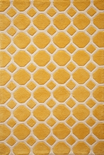 Gold Circles Bliss Rug