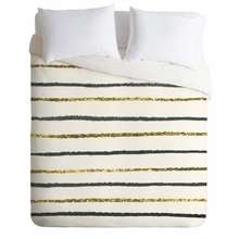 Golden Black Lightweight Duvet Cover