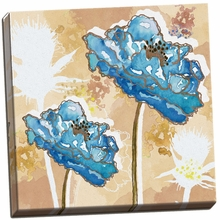Golden Blue I Canvas Wall Art