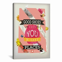 Good Shoes 2 Canvas Wall Art