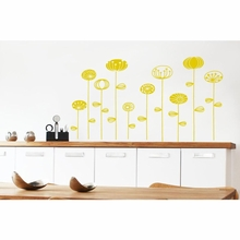 Goterborg Flowers Transfer Wall Decals