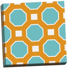 Graphic Pattern I Canvas Wall Art