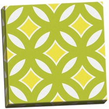 Graphic Pattern II Canvas Wall Art
