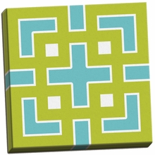 Graphic Pattern III Canvas Wall Art