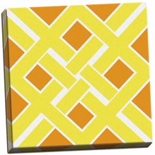 Graphic Pattern IV Canvas Wall Art