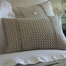 Gray Hartford Boudoir Pillow